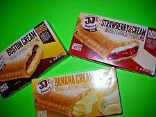 JJ's Bakery Lightly Glazed Snack Pies (Pack of 3) VARIETY Remember Hostess