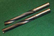 "2 USA Made CLEVELAND Twist coolant fed drill bits 27/32""  - FREE USA Shipping"