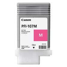 ORIGINAL CANON pfi-107m Magenta Tinta Cartucho para Imageprograf (6707b001aa)