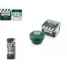Proraso Eucalyptus&Menthol Shaving Kit-Brush+Soap+Pre-Shave Cream/SAME DAY POST
