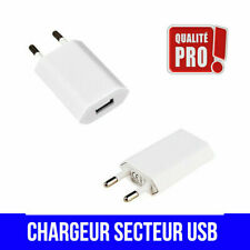 CHARGEUR ADAPTATEUR PRISE SECTEUR MURAL CABLE USB micro C apple iPhone Samsung