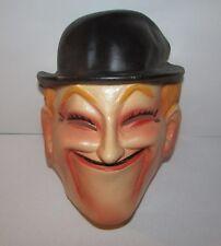 Vintage Laurel from Laurel & Hardy Thin Plastic Halloween Mask France