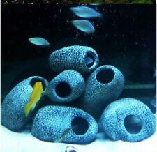 x 3 céramique rocher grotte aquarium aquarium Cichlidés Pierre crevette élevage