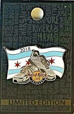 Hard Rock Cafe Chicago Pin Running Shoes 2018 Sneakers Marathon New LE #100723