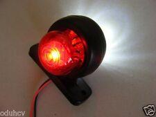 MINI LED RUBBER STALK SIDE MARKER LIGHT LAMP LORRY TRUCK TRAILER CHASSIS 24V