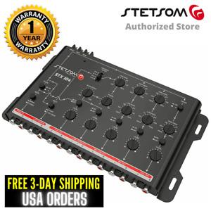 Stetsom STX 104 Crossover 5 Way Car Equalizer STX104 Sound Processor 3 Day USA