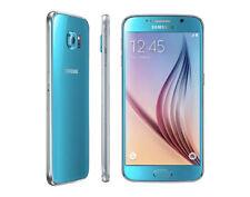 Samsung Galaxy S6 G920F 32 Go 16 Mpx 4G LTE Unlocked Mobile Phone (Bleu ciel)