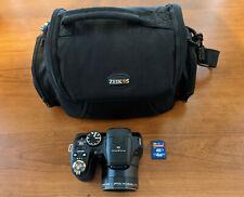 Fuji Fujifilm Finepix S S1800 18x Optical Zoom 12MP Digital Camera, Bag, SD Card