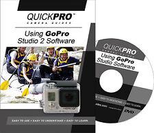 QUICKPro Training DVD Using GoPro Studio 2 Software  >NEW< Free US Shipping