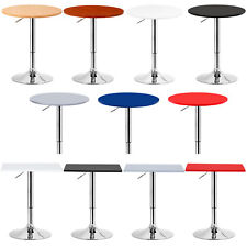 Bar Table Bistro Table Spuare Kitchen Dining Swivel Pub Table Adjustable u053