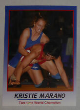 Kristie Marano 2008 ProImage Heroes of Wrestling Card USA Wrestler of the Year