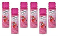 6 Pack Skintimate Signature Scents Shave Gel Raspberry Rain 7oz Each