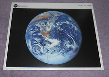 NASA Apollo 17 View of Earth Photo Litho HQL-363