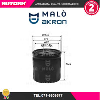 1051051-G Filtro olio Ford-Mazda-Volvo (MALO').