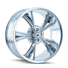 "CPP Ridler style 695 Wheels, 20x8.5 front + 20x10 rear, 5x4.75"" CHROME"