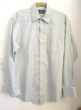 Nautica Men's Dress Shirt, Long Sleeve, Light Green, Size 15 1/2  34/35