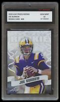 JOE BURROW 2020 LEAF PRIZED 1ST GRADED 10 ROOKIE CARD RC CINCINNATI BENGALS/LSU