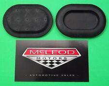 2 EA MOPAR OE Rubber Oval Floor Pan Drain Plugs Fits 1997-2006 Jeep Wrangler TJ