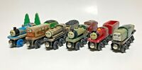 Vintage Lot Wooden Thomas and Friends Britt Allcroft Gullane Trains Well Worn