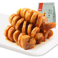 Chinese Food Snack Spicy Gluten Rolls Speciality 小吃华人食品中国特产辣条烧烤 面筋卷120g/袋 Haihk