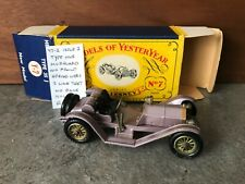 MATCHBOX LESNEY YESTERYEAR Y7-2 MERCER RACEABOUT ISSUE 2* RARE *NMIB*