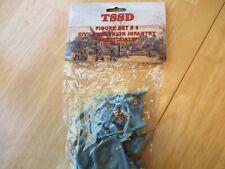 TSSD 1/32 CIVIL WAR UNION GREAT COAT INFANTRY 16 SOLDIERS-NEW