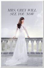 50 SHADES FREED -2018- original 27X40 ADVANCE Movie Poster- DAKOTA JOHNSON