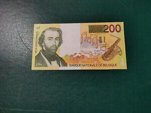 Belgium Banknote 200 Francs 1990 !!!!!!!
