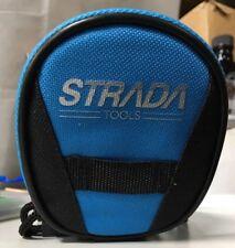 Strada Cycling Bike Flat Tire Puncture Repair Kit Multi-Tool w/ Saddle Bag