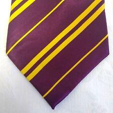 Harry Potter Tie Diagonal Stripe Rubies