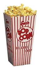 Popcorn Machine supplies 100 popcorn scoop Boxes 1.25oz