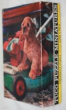Vintage Nosey Pup Tuco Childrens Miniature Tripl-Thick 30 Piece Puzzle 5-1/4x7