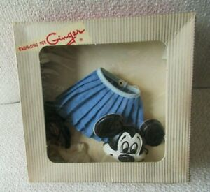 Vintage Ginger doll partial Disney Micky Mouse Club outfit in box