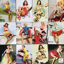 Lots 30pcs Retro Pinup Girl Gil Elvgren Beauty Vintage Postcard Poster BULK Set