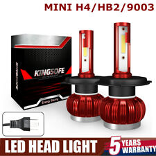 2x H4 270W 40000LM Car COB LED Headlight Bulbs 9003 HB2 Side Light Driving Lamps