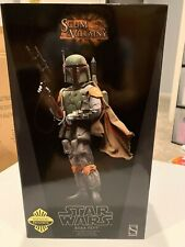 Star Wars Boba Fett Mandalorian 1/6 Scale 12 In. Sideshow Collectibles Exclusive