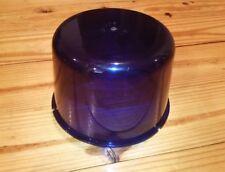 Vintage NA 250-33 Blue Emergency Lens Beacon for Revolving Light Police Fire