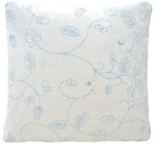 """Baby Blue Cushion Cover Designers Guild Fabric Woven Cotton Square 16"""""""