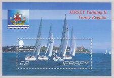 JERSEY 2007 YACHTING 2nd emissione-Gorey Regatta 150th una MS UM SGMS 1319 CAT £ 6.00