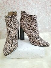 QUPID HEELED ANKLE BOOTIES SIZE 9