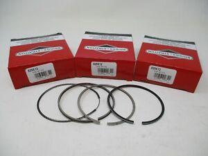 Set of 3 825512 Piston Rings Briggs & Stratton STD Daihatsu Toro