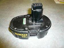 dewalt dw9099 18v  battery FOR PARTS