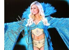 WWE CHARLOTTE FLAIR HAND SIGNED AUTOGRAPHED 8X10 PHOTO WOO WITH PROOF AND COA 13
