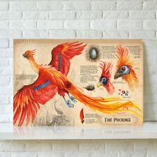 HD Print Oil Painting Decor Art On Canvas Harry Potter Dumbledore Phoenix 24x36