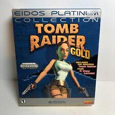Tomb Raider Gold (Windows Pc, 1998) New! Eidos Platinum Collection