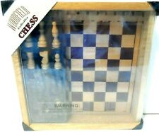 Woodfield Collection Chess Set in Wooden Case - Sealed - 2002 NEW
