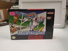 Bugs Bunny in Rabbit Rampage CIB (Super Nintendo Entertainment System, 1994)