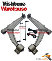 fits SAAB 9-3 93 02-12 FRONT SUSPENSION LOWER CONTROL WISHBONE ARMS L/R & LINKS