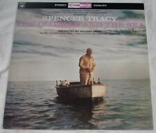 THE OLD MAN AND THE SEA (Dimitri Tiomkin) rare mint France stereo lp (reissue)