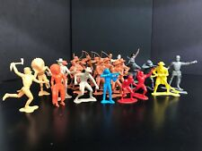 Vintage Marx Plastic Figures, Lot of 25